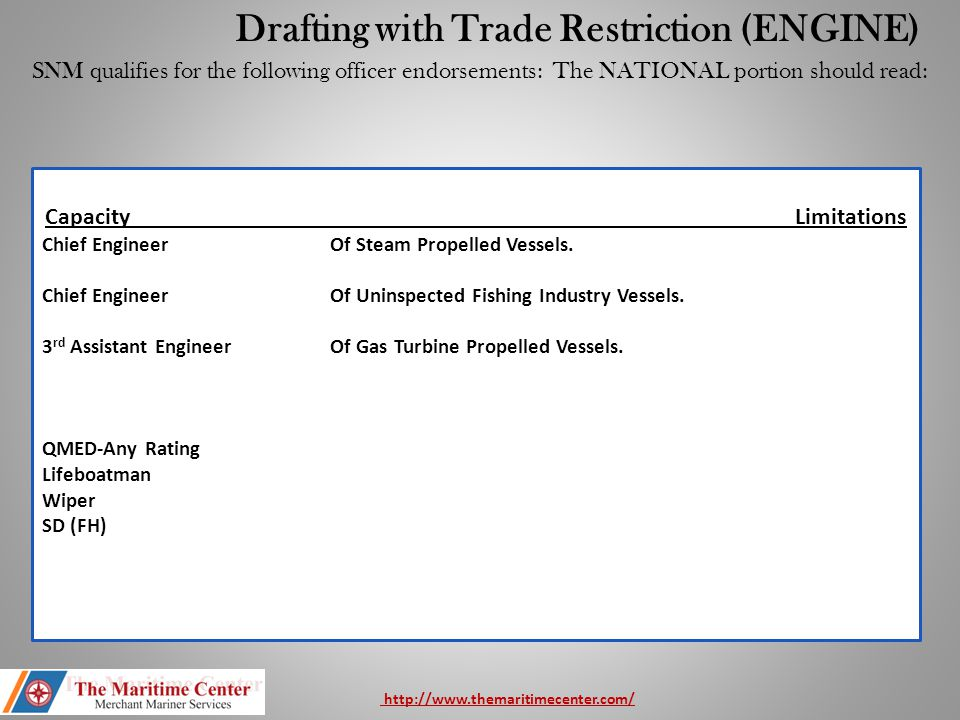 Drafting with Trade Restriction (ENGINE)