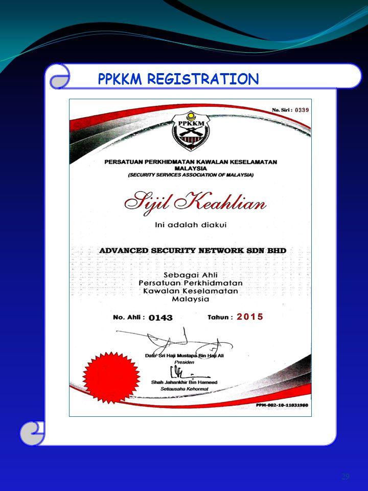 PPKKM REGISTRATION