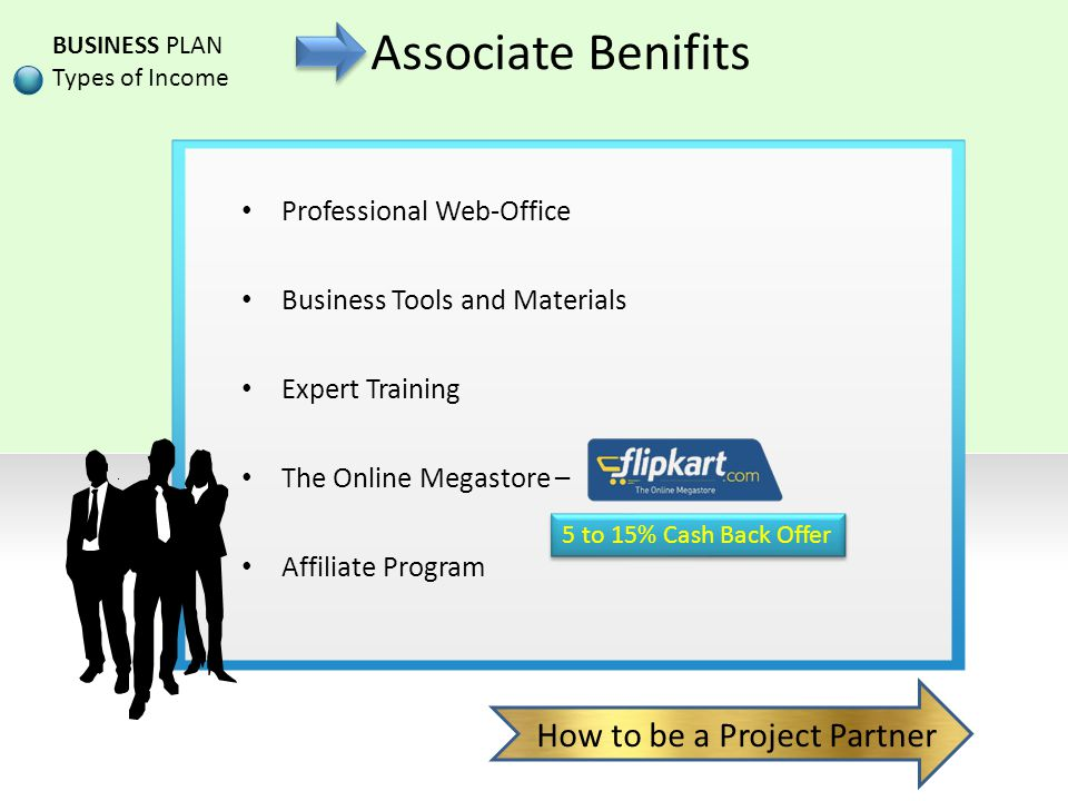 Associate Benifits How to be a Project Partner Professional Web-Office