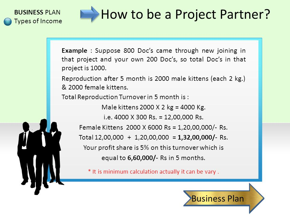 How to be a Project Partner