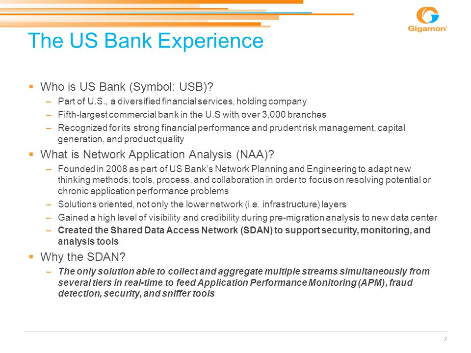 The US Bank Experience Who is US Bank (Symbol: USB)