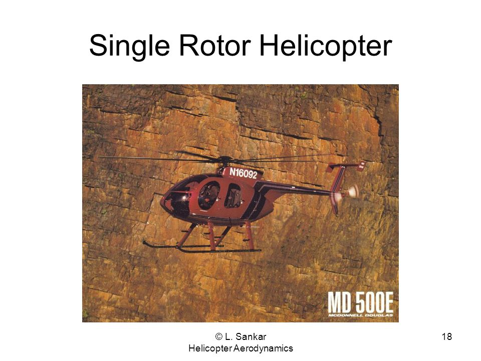 Single Rotor Helicopter