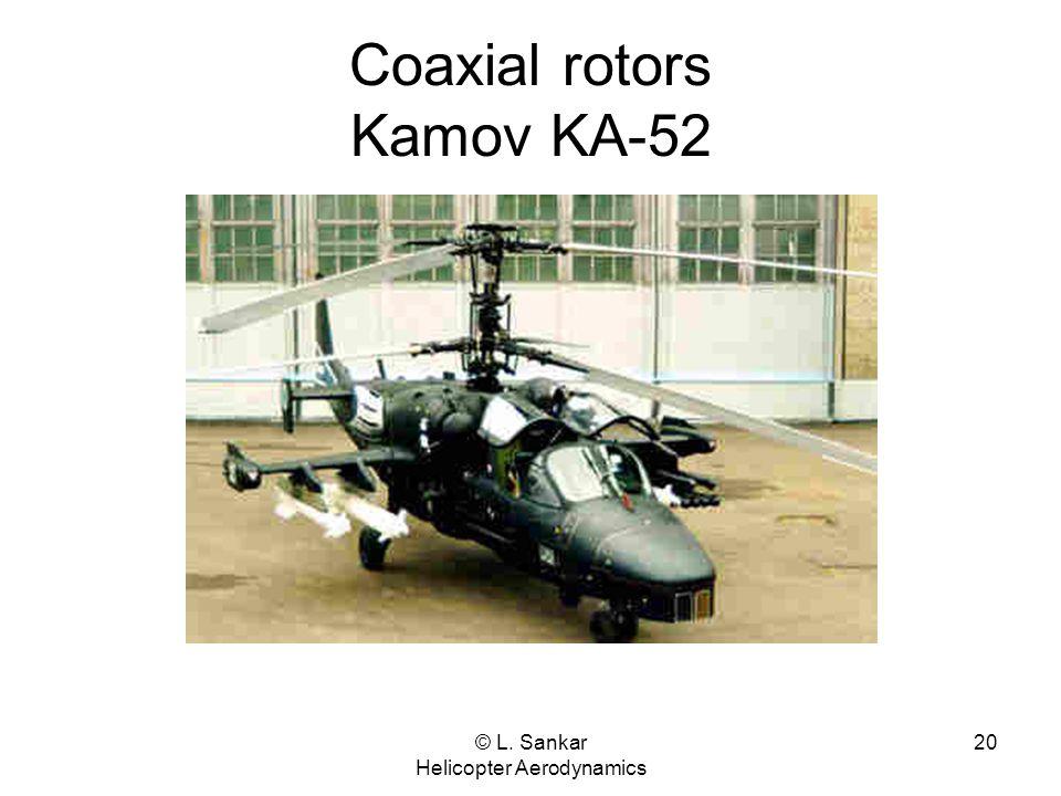 Coaxial rotors Kamov KA-52