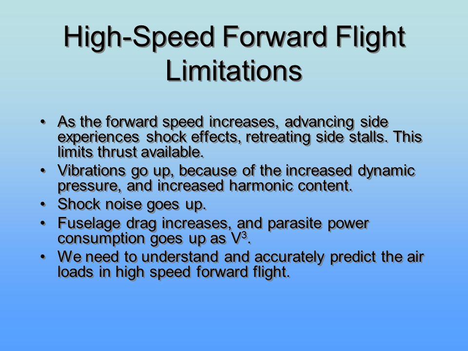 High-Speed Forward Flight Limitations