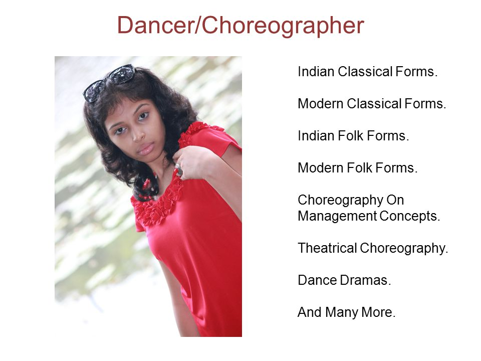Dancer/Choreographer