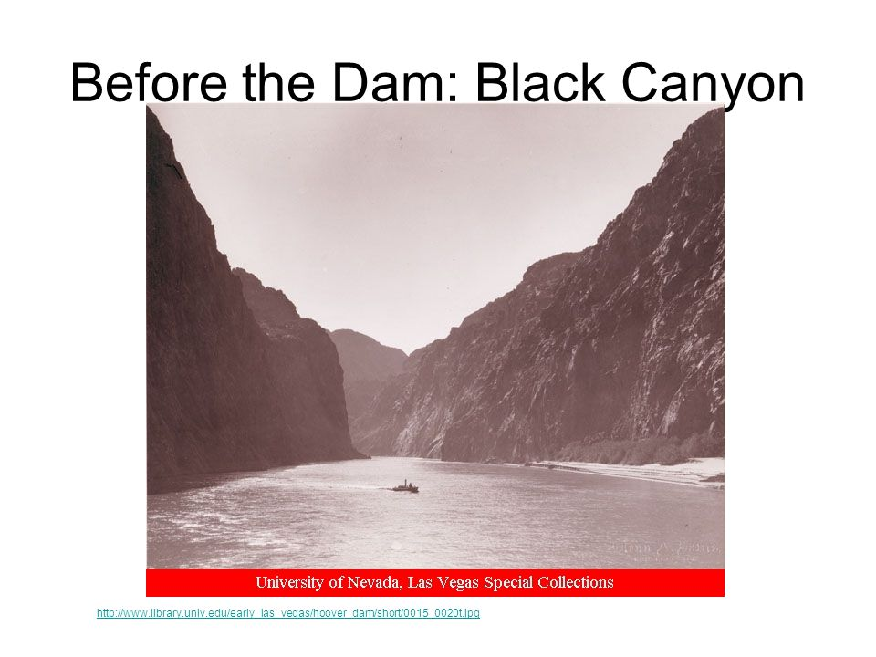 Before the Dam: Black Canyon