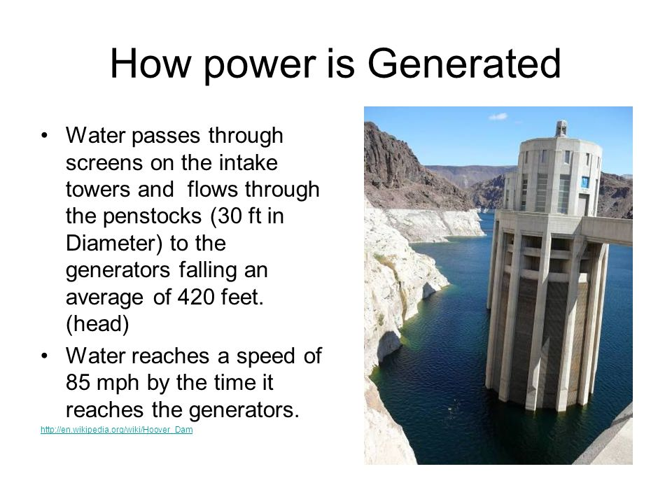 How power is Generated