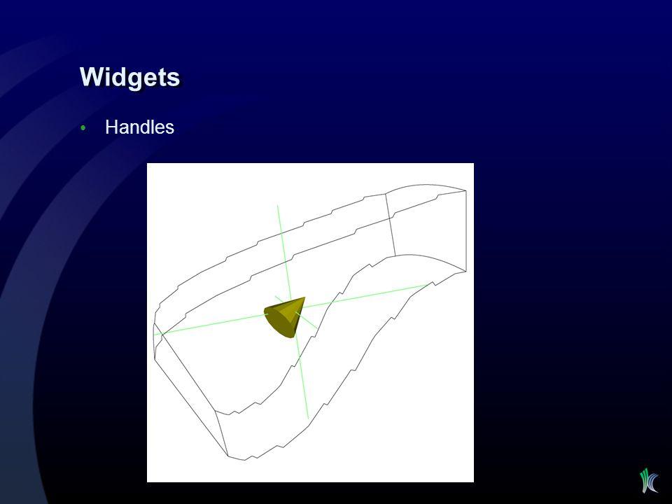 Widgets Handles