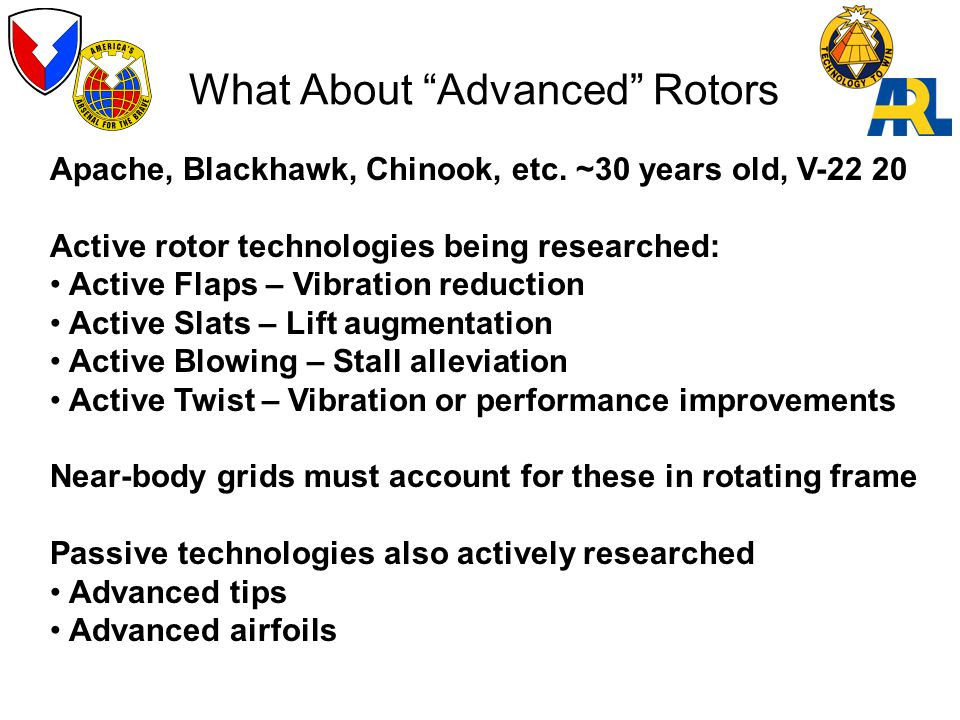 What About Advanced Rotors