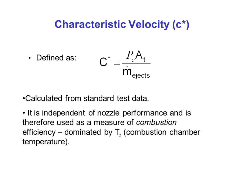 Characteristic Velocity (c*)