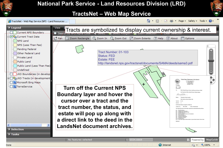 National Park Service - Land Resources Division (LRD)