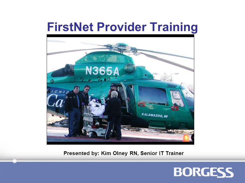 FirstNet Provider Training