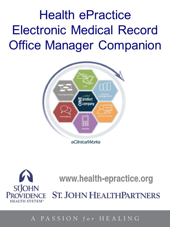 Electronic Medical Record Office Manager Companion