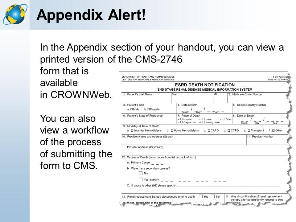 Appendix Alert!