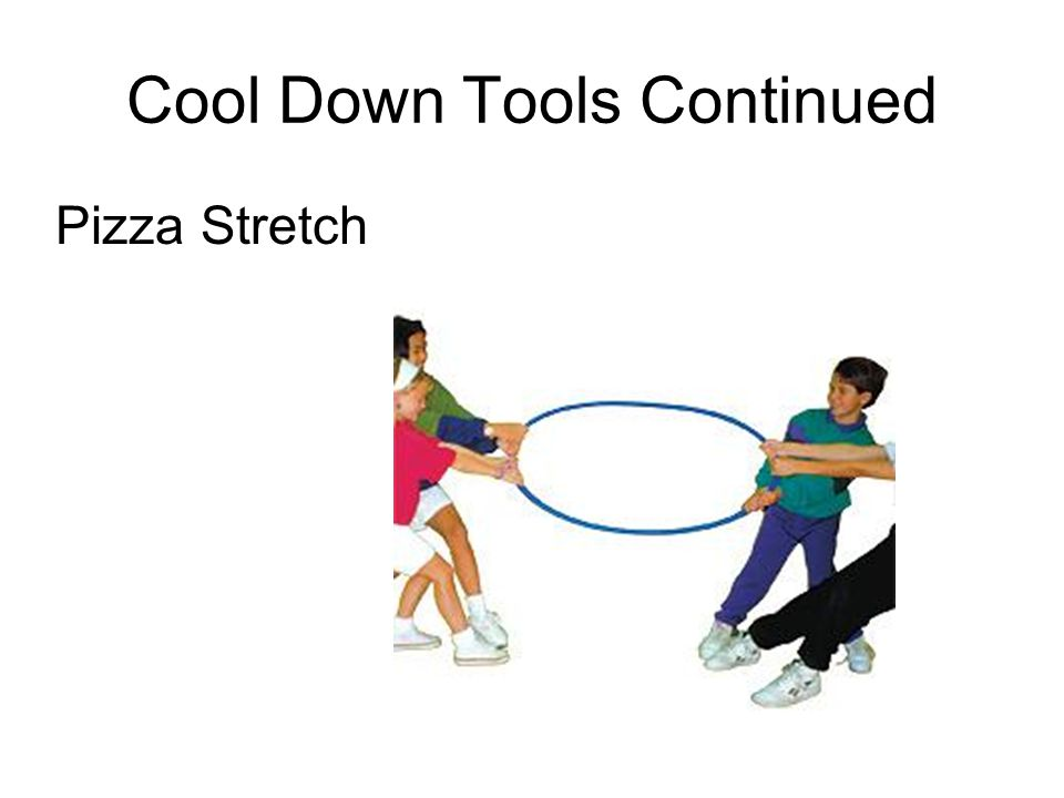 Cool Down Tools Continued
