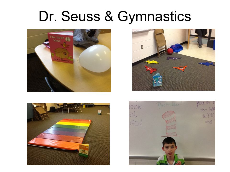 Dr. Seuss & Gymnastics