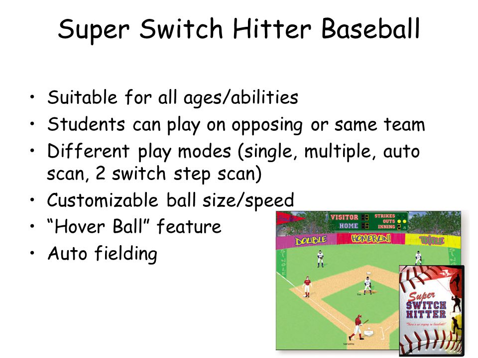 Super Switch Hitter Baseball