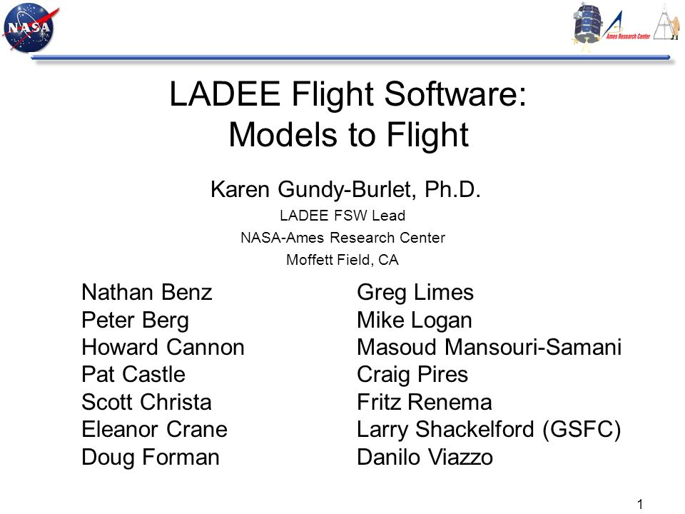 LADEE Flight Software: Models to Flight