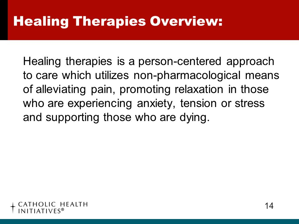 Healing Therapies Overview: