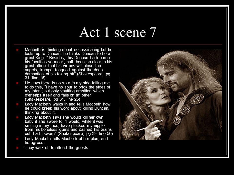 macbeth act summary ppt video online  act 1 scene 7