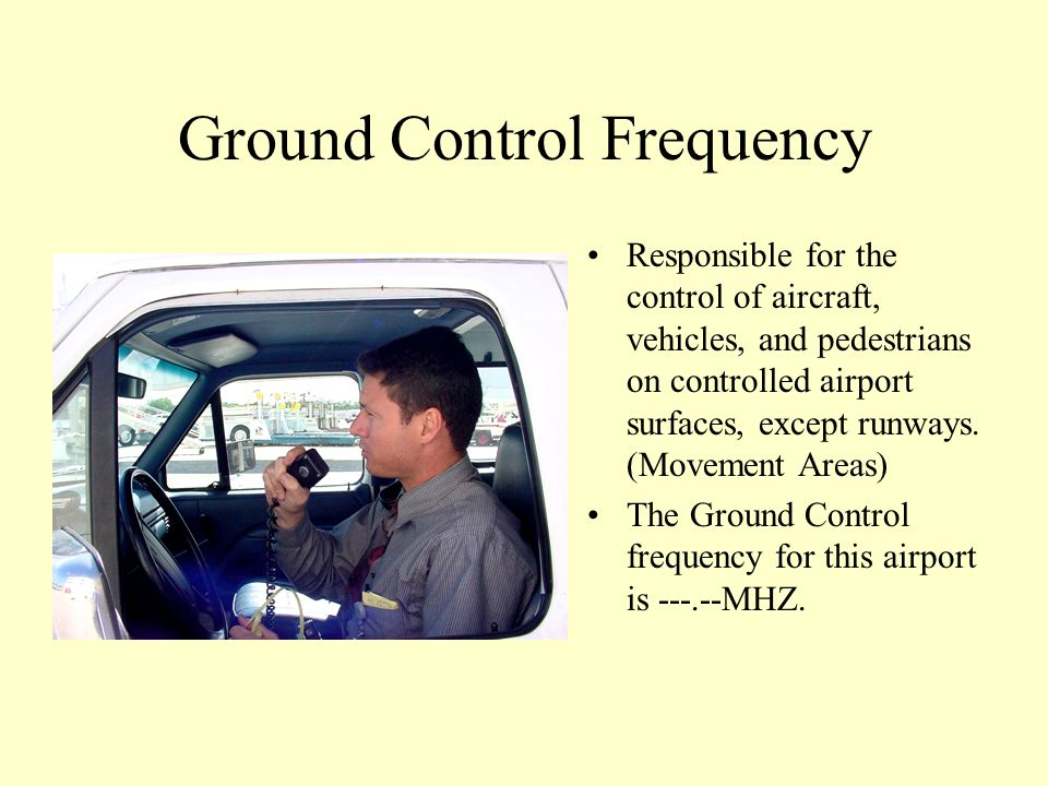 Ground Control Frequency