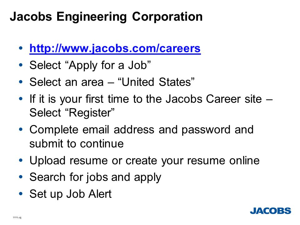 Jacobs Engineering Corporation