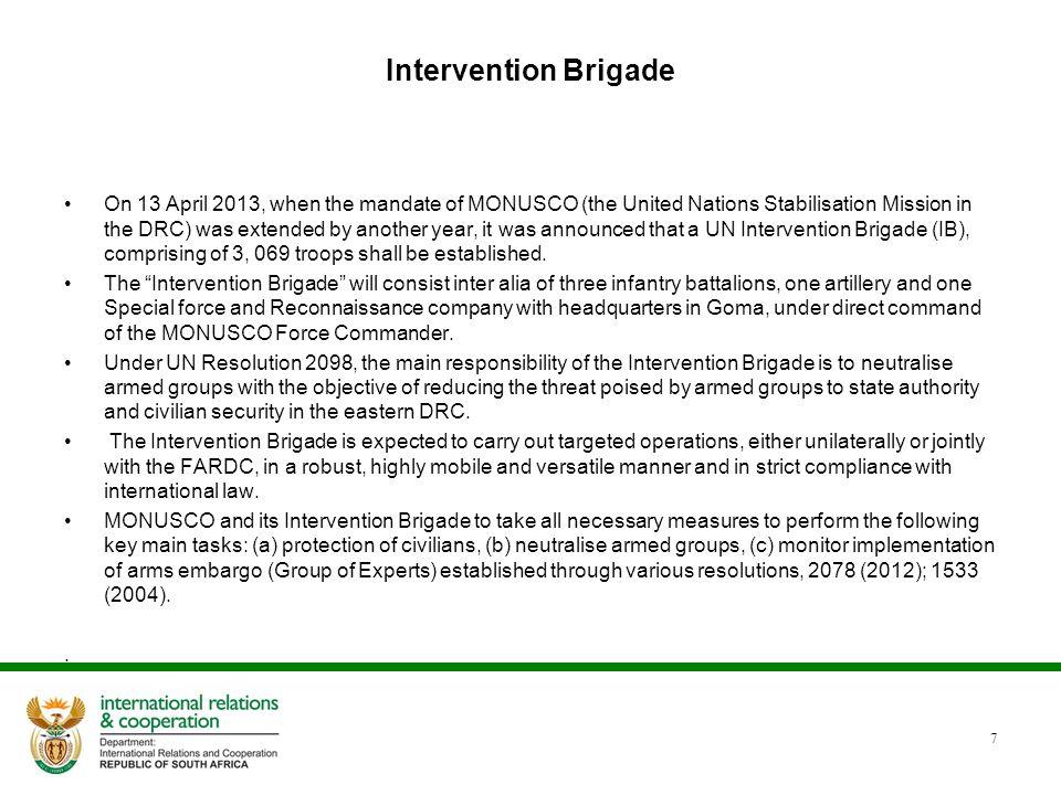 Intervention Brigade