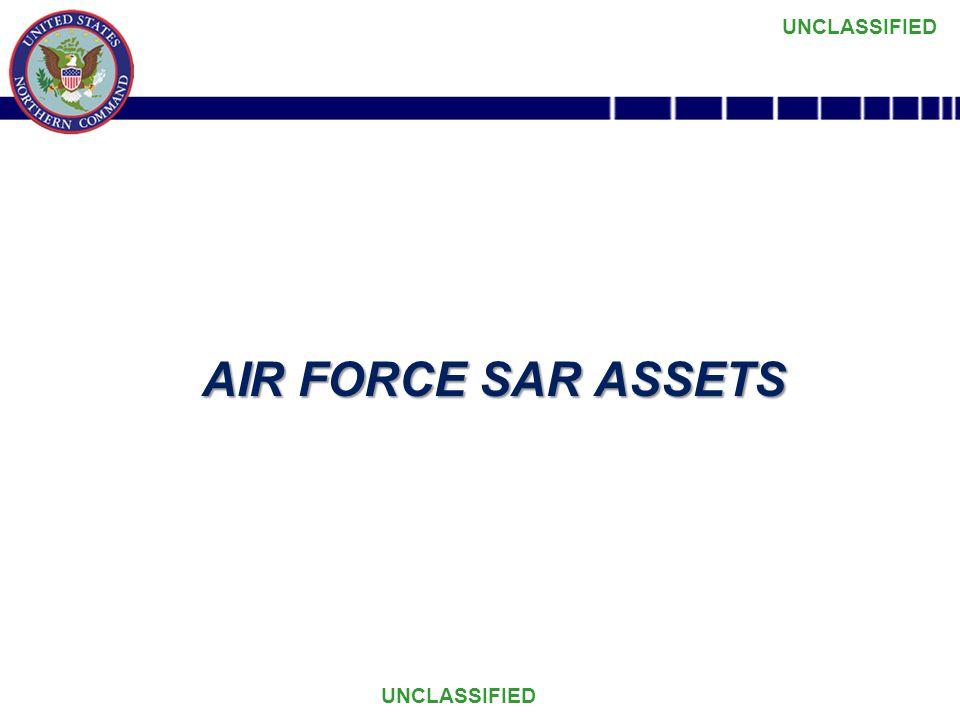 AIR FORCE SAR ASSETS