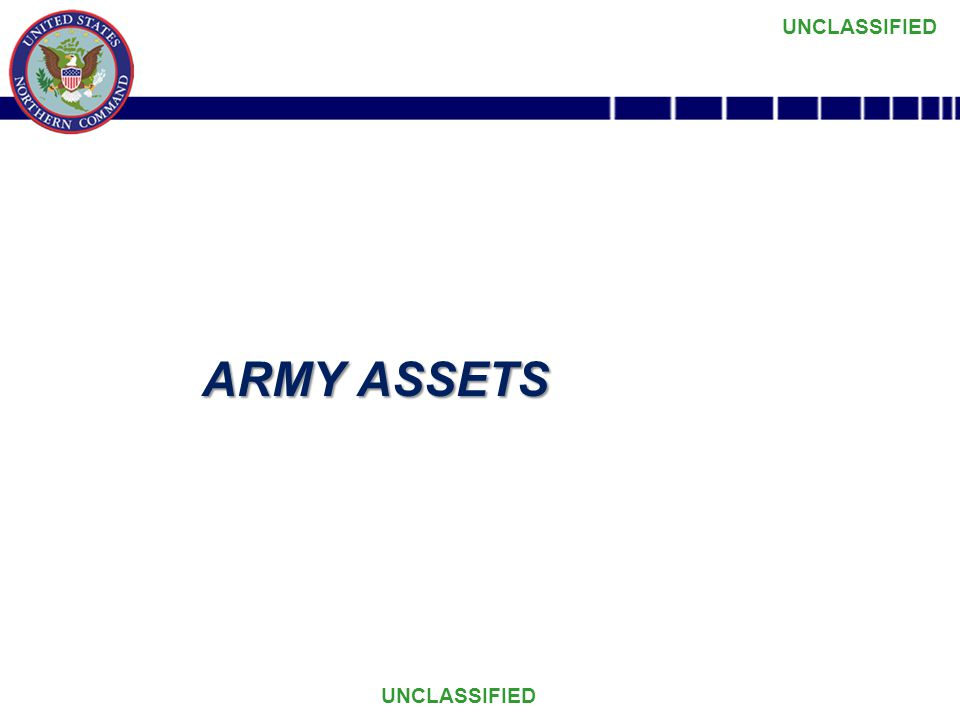 ARMY ASSETS