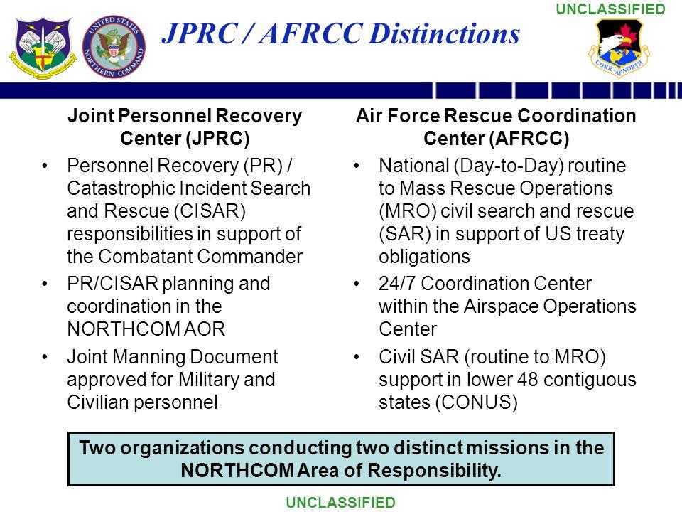 JPRC / AFRCC Distinctions
