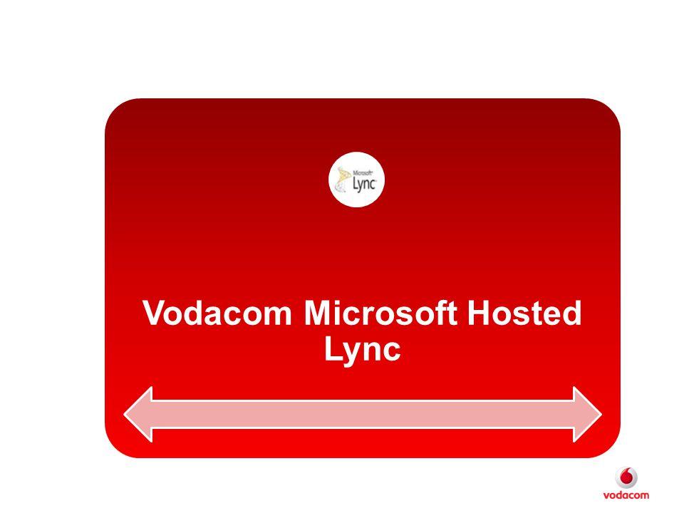 Vodacom Microsoft Hosted Lync