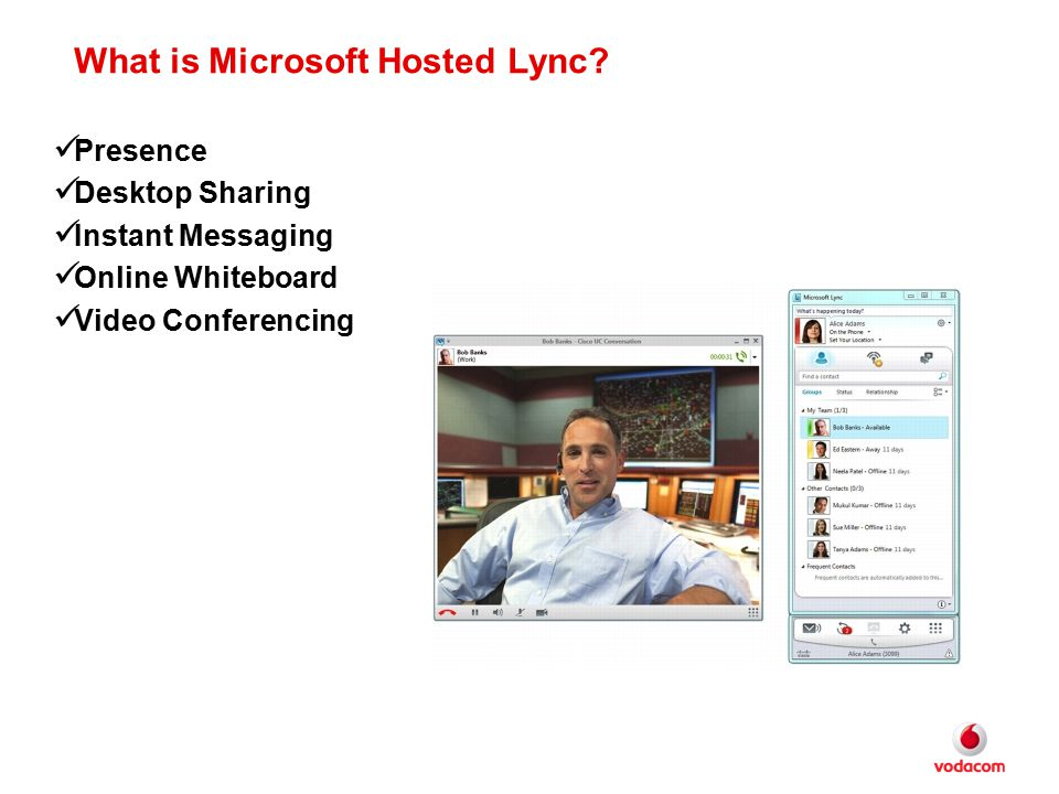 What is Microsoft Hosted Lync