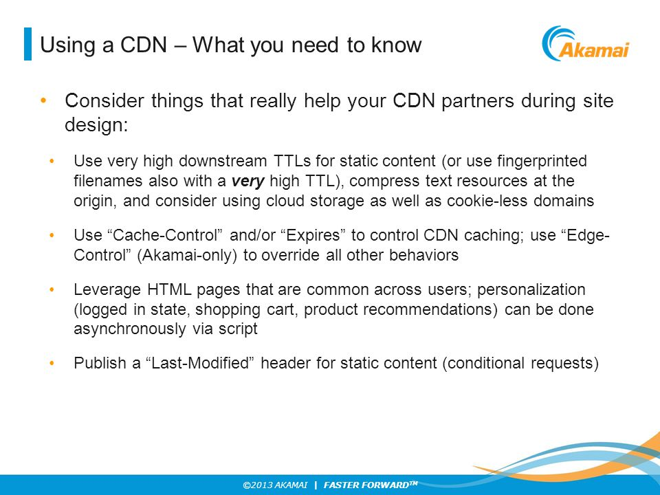 Using a CDN – What you need to know