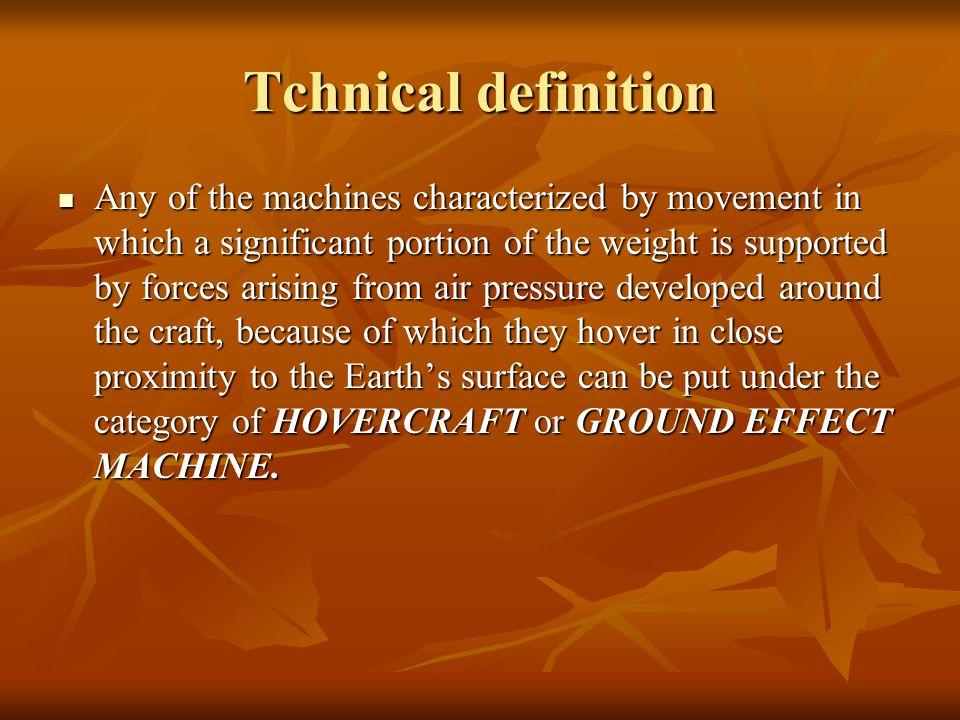 Tchnical definition