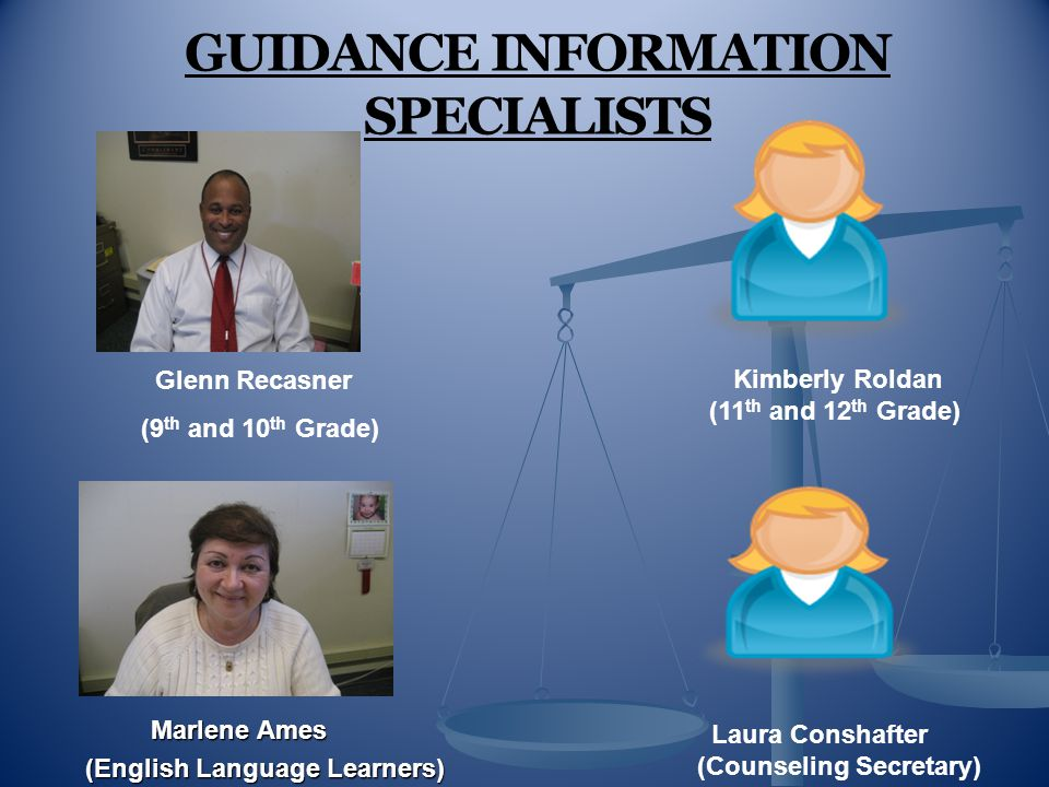 GUIDANCE INFORMATION SPECIALISTS