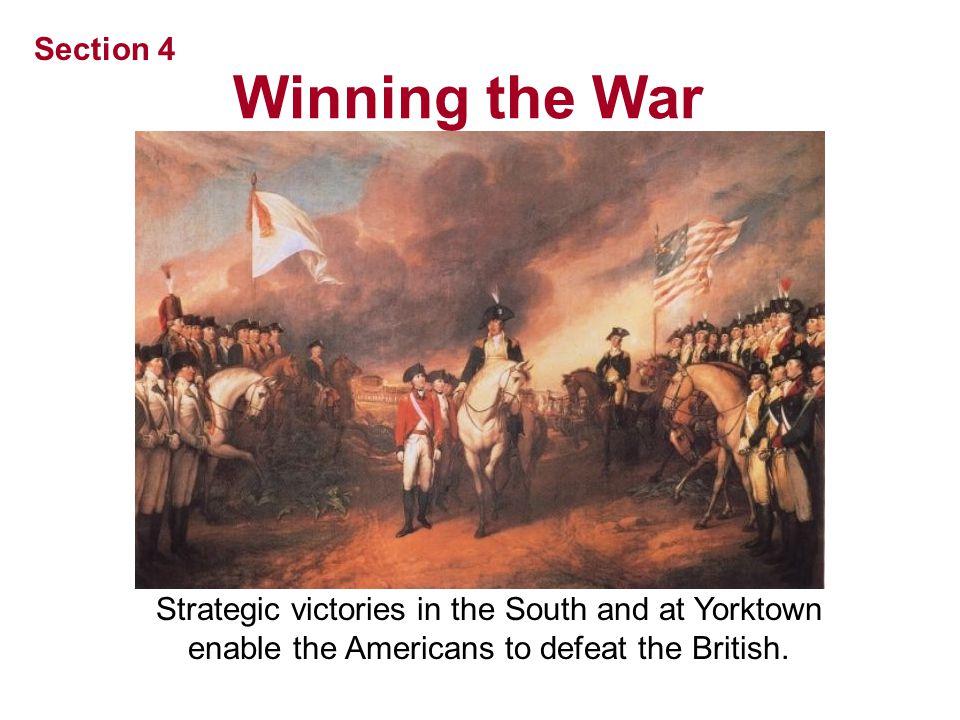 Winning the War Section 4