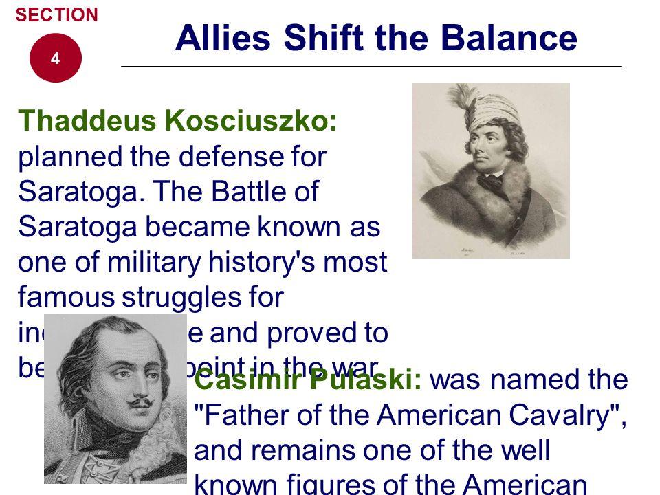 Allies Shift the Balance