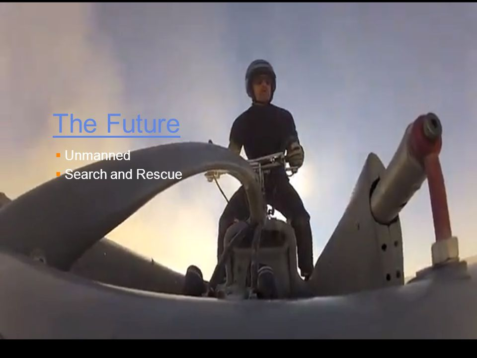 The Future Unmanned Search and Rescue