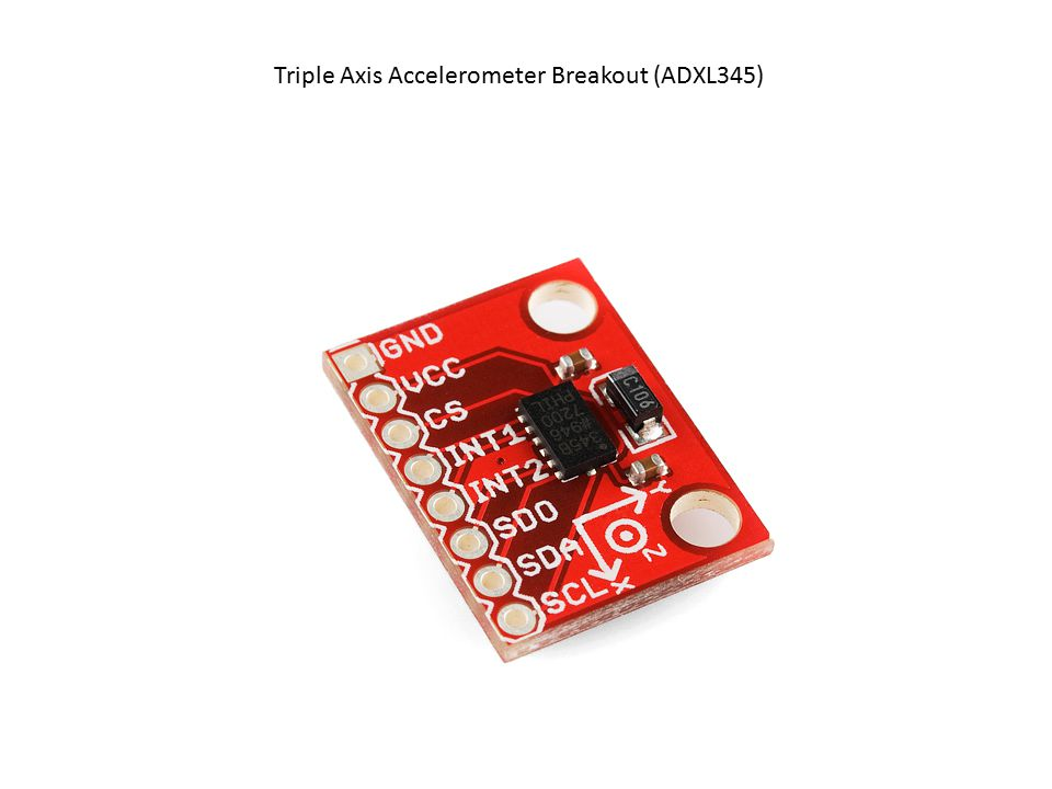Triple Axis Accelerometer Breakout (ADXL345)