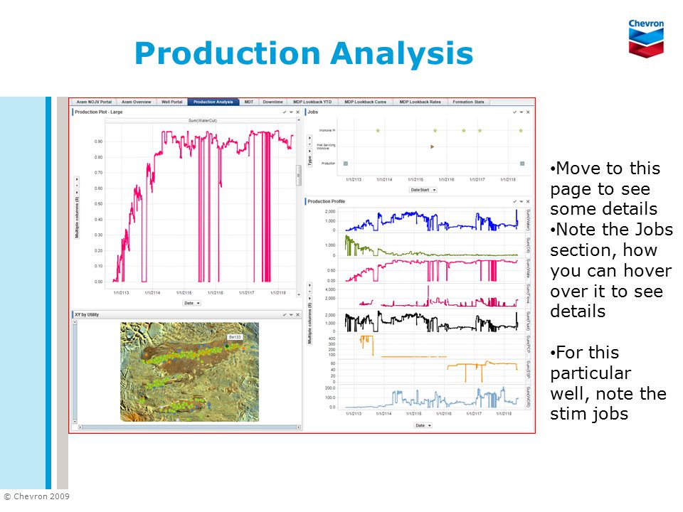 Production Analysis Move to this page to see some details