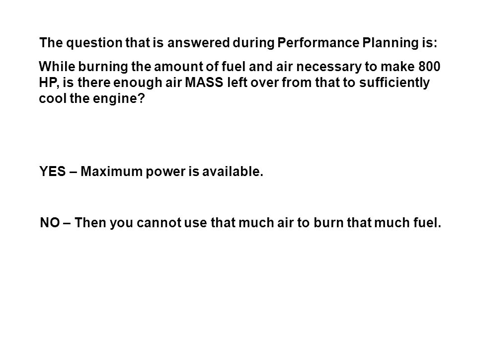 The question that is answered during Performance Planning is: