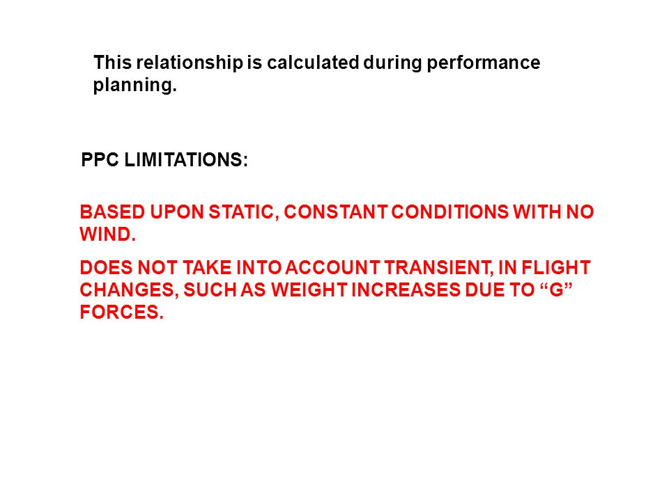 This relationship is calculated during performance planning.