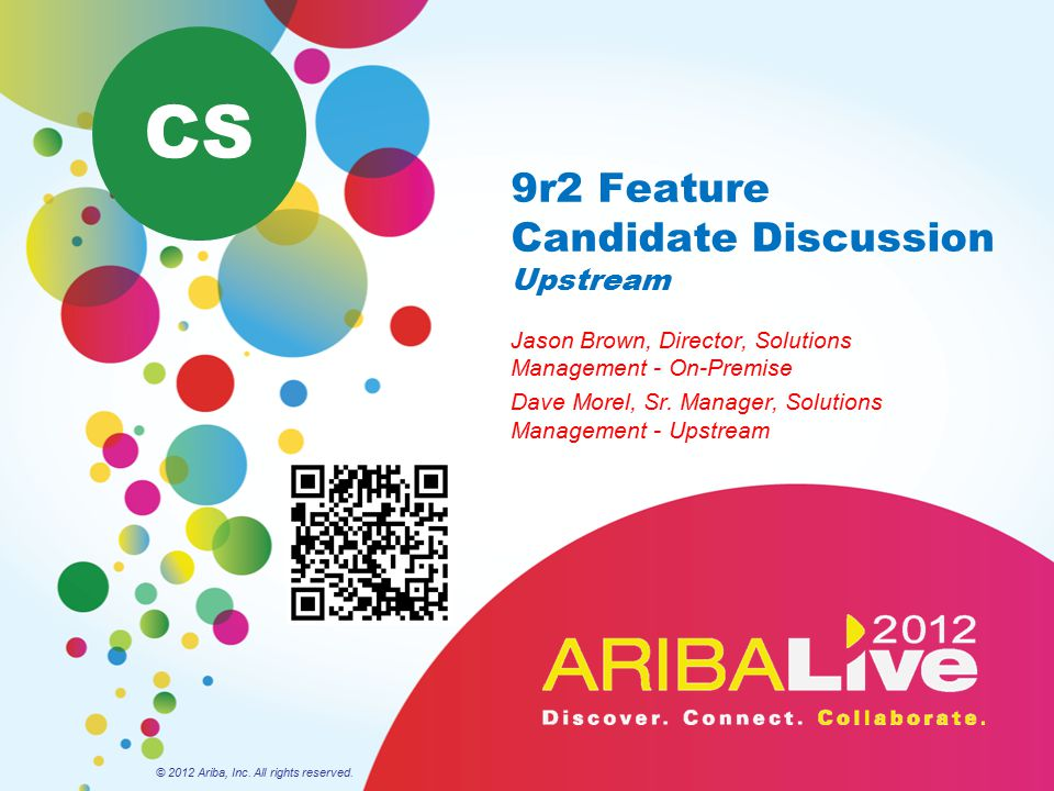 9r2 Feature Candidate Discussion Upstream