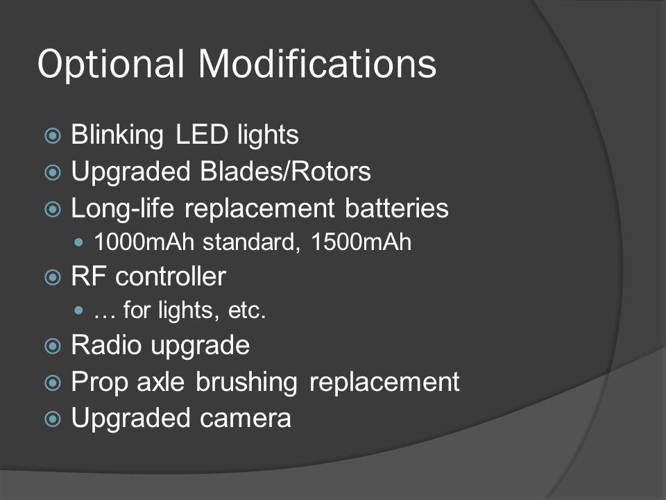 Optional Modifications