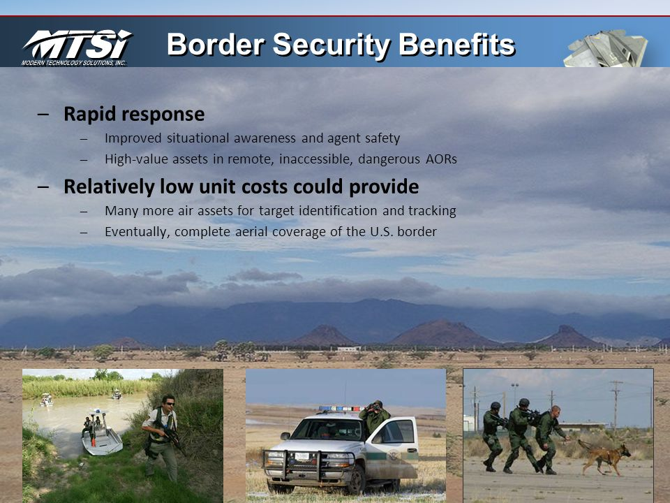 Border Security Benefits