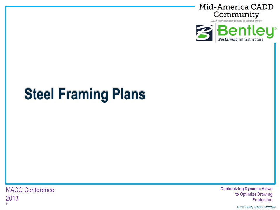 Steel Framing Plans