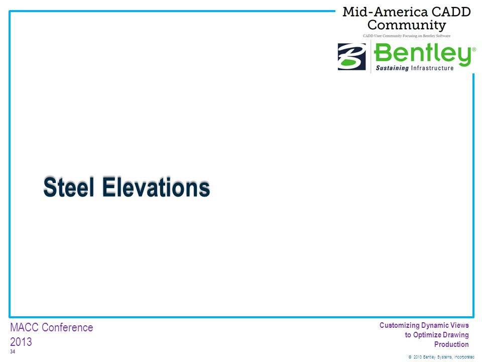 Steel Elevations