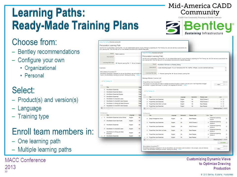 Learning Paths: Ready-Made Training Plans