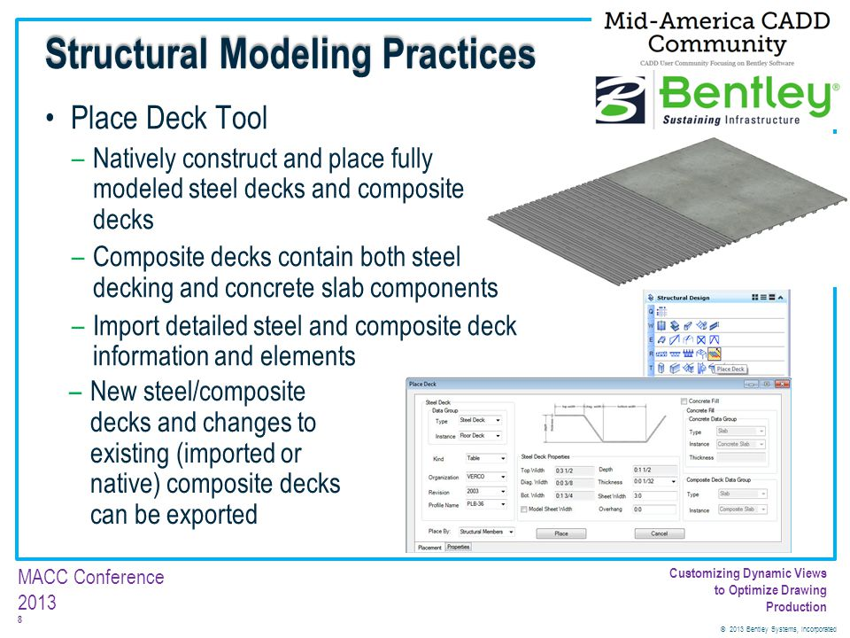 Structural Modeling Practices