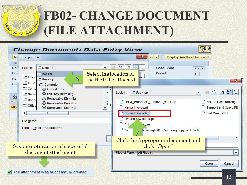 FB02- CHANGE DOCUMENT (FILE ATTACHMENT)